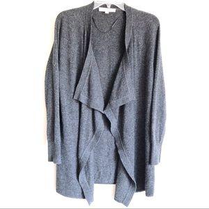 LOFT Sweaters - Loft Drape Open Front Cardigan